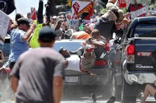 Three Dead, Dozens Injured After Protest of White Nationalist Rally in VA. Turns Violent