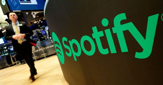 Spotify Stock Opens Higher Than Expected, Valuing Company at $30 Billion