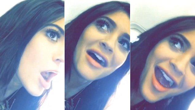 "Kylie Jenner ""High As F–k"" Snapchat Video"