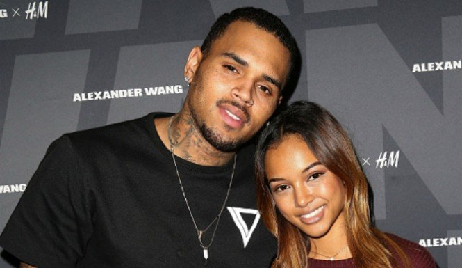 Chris Brown Desperately uses her daughter Royalty to Win Back Karrueche