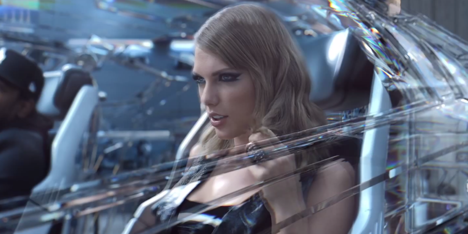 Watch Taylor Swift Eat a Wall In This 'Bad Blood' Blooper