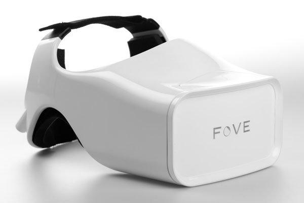 Fove VR Headset Locks Onto Your Gaze