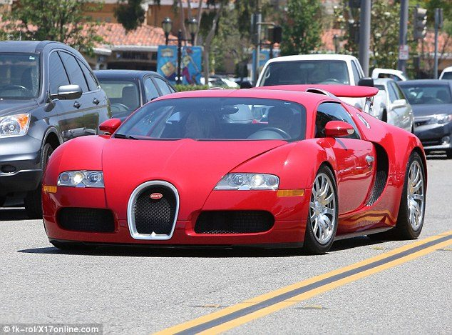 Kylie Jenner's Boyfriend Tyga Spotted in a Bugatti With Mystery Blonde