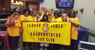 LeBron JaLeBron James's Biggest Fans: A Gang of 200 Rowdy Grandmothersmes's Biggest Fans: A Gang of Rowdy Grannies
