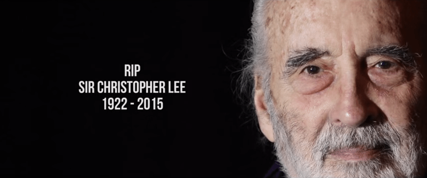 Actor Sir Christopher Lee Known for 'Dracula,' 'Lord of Rings' dies at 93