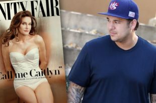 Rob Kardashian's Reaction To Caitlyn Jenner Cover