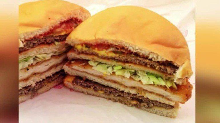 "McDonald's Manager admits Restaurant has Secret Menu ""The Land, Air and Sea burger,"""