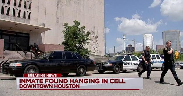Inmate found hanging inside downtown Houston Jail