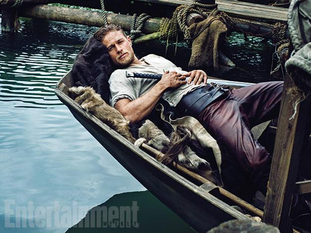 First Look at Sons of Anarchy Star Charlie Hunnam as King Arthur