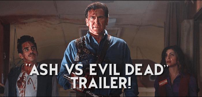 VIDEO Bruce Campbell Stars in Ash vs. Evil Dead