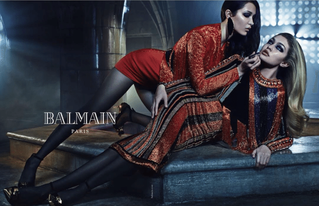 Kylie and Kendall Jenner Star in Balmain Sibling-Themed Fall Campaign