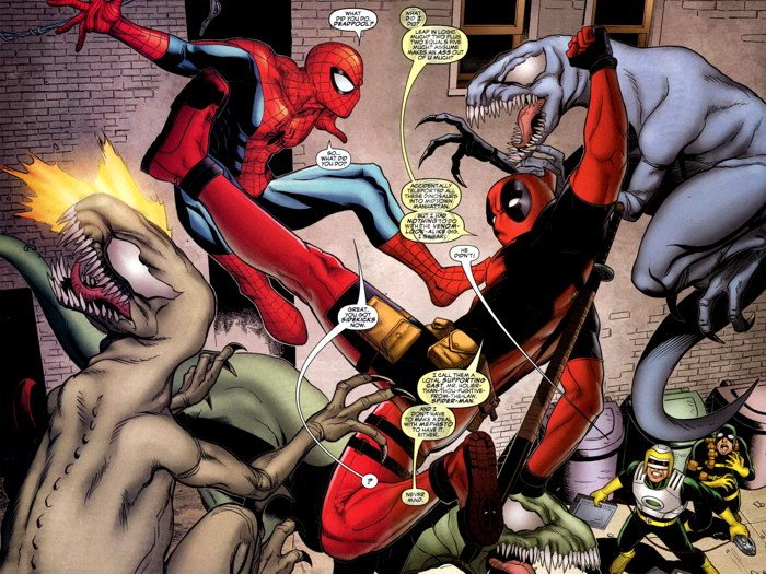 Spider-Man Deadpool Series Announced by Joe Kelly and Ed McGuinness