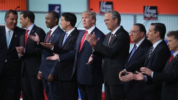 Donald Trump Stirs GOP Presidential Debate