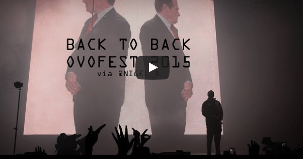 Drake Trolls Meek Mill Live at OVO Fest 2015, Teases New Diss Track #3Peat