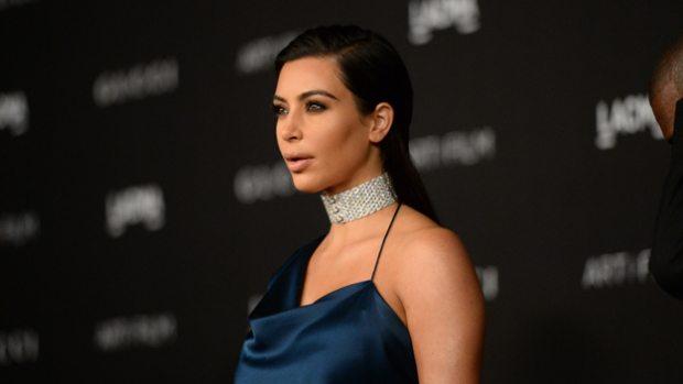 Kim Kardashian Posts Nude Selfie Showing Off Baby Bump