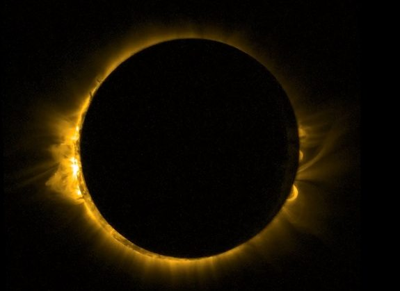 Total Solar Eclipse on August 21, 2017