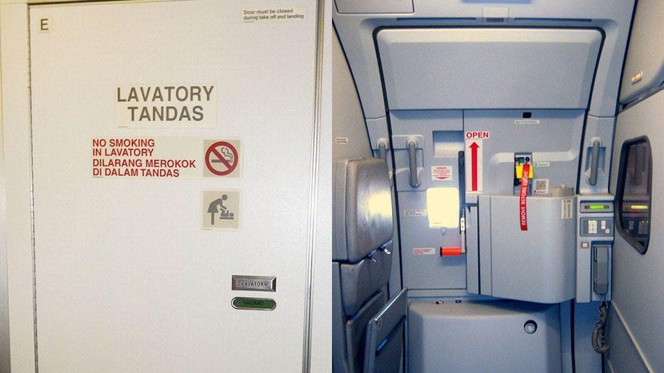 KLM Airlines Man On Plane Mistakes Exit Door For Bathroom Door at 30,000 Feet
