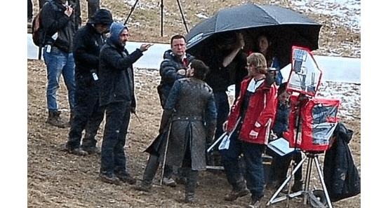 Kit Harrington 'Jon Snow' Spotted Filming 'Game of Thrones'
