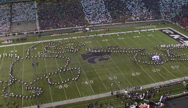 Kansas State University Marching Band Apologizes for 'offensive' Halftime Show
