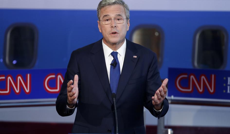 Jeb Bush Admits During GOP Debate To Smoking Marijuana in Past
