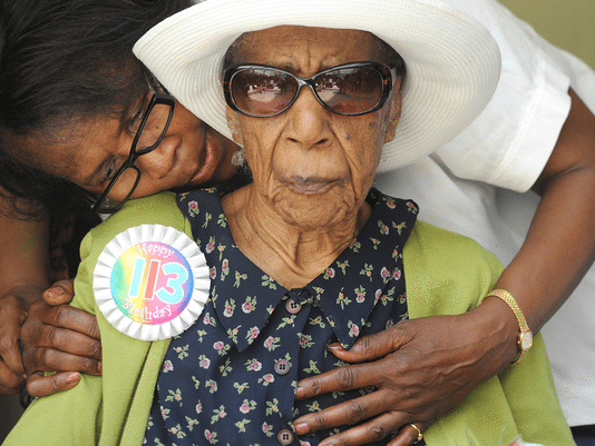 World's Oldest Woman, Susannah Mushatt Jones Says She Eats Bacon Daily