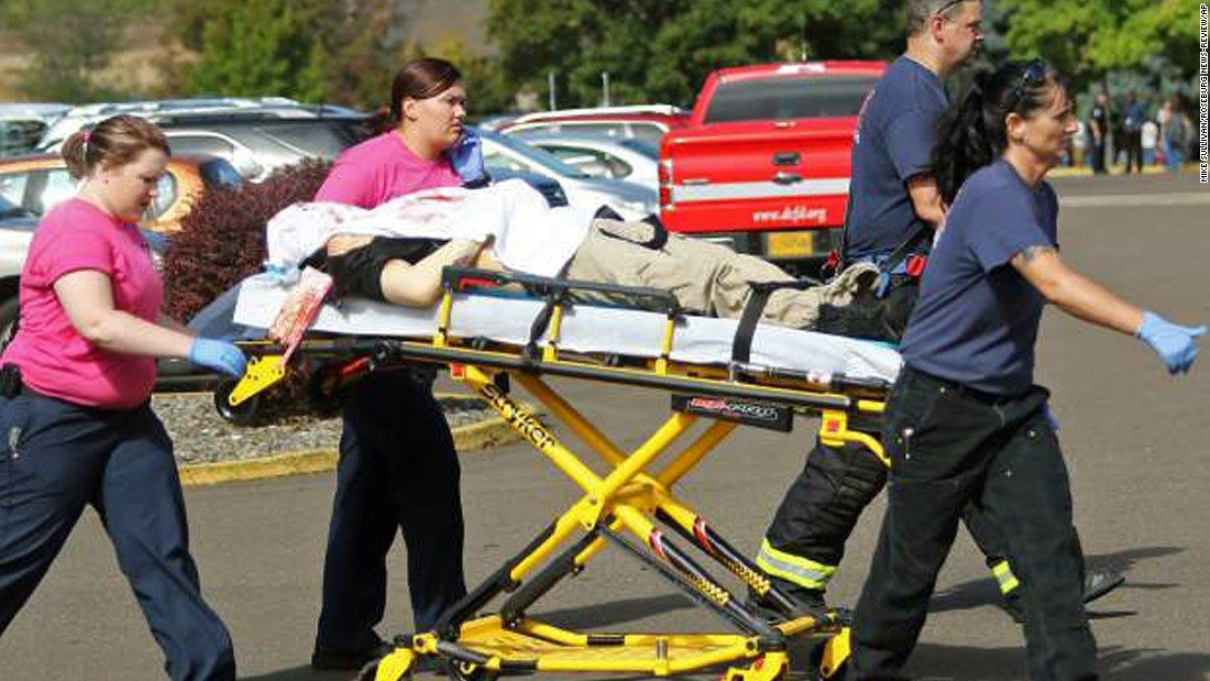 Shooter at Oregon Community College Dead after Exchanging Gunfire with Police