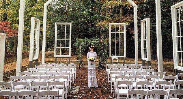 Jason Mraz Marries Christina Carano in Woodland Ceremony