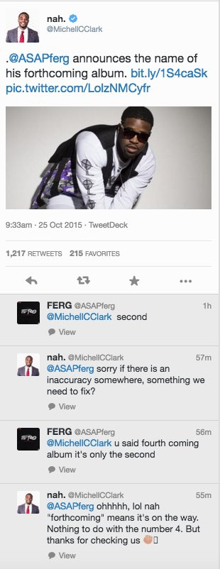 Rapper Asap Ferg Embarrases Himself on Twitter With Cringeworthy Exchange