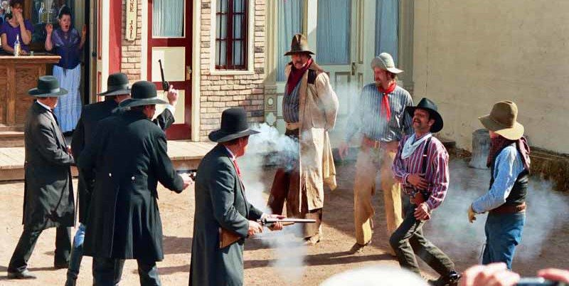 2 Shot During Old West Gunfight Re-Enactment in Tombstone, Arizona