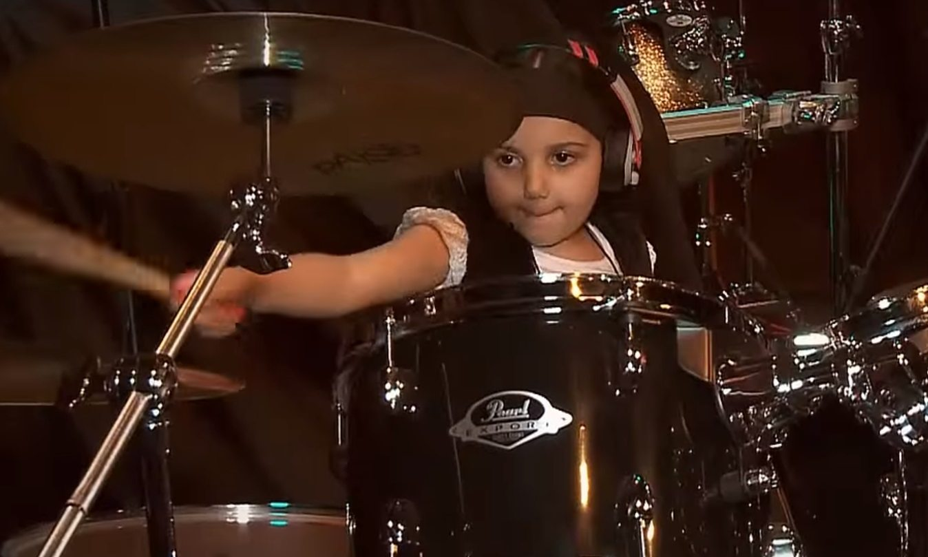 Amazing Five-Year-Old Girl Drummer Nails 'System Of A Down'