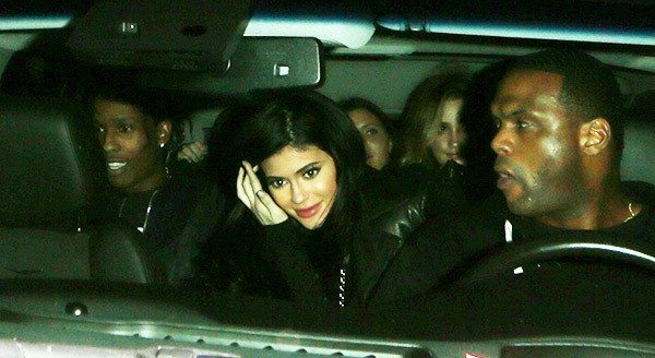 VIDEO A$AP Rocky Seen Leaving California Nightclub With Kylie Jenner