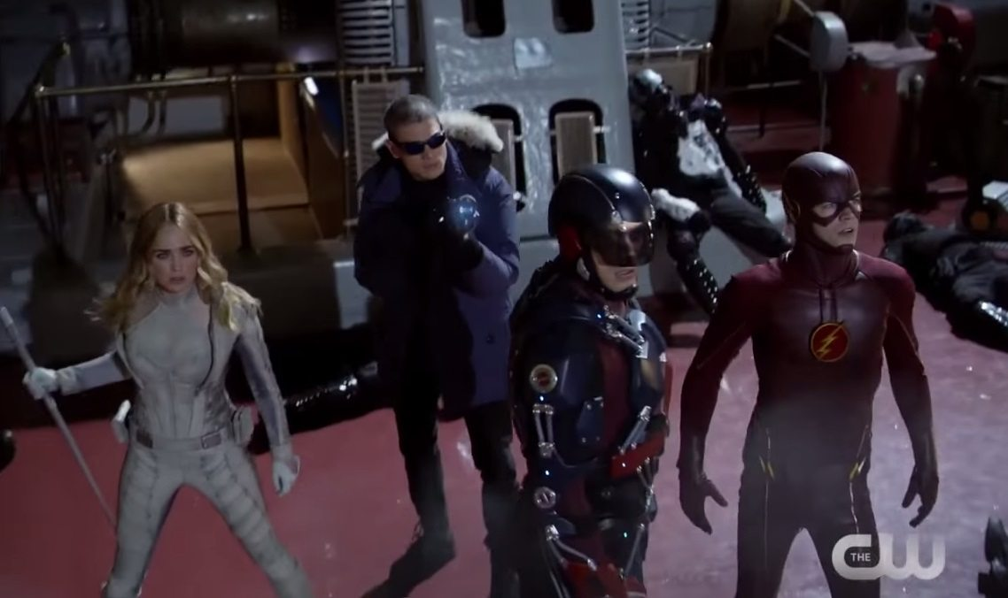 DC's 'Legends of Tomorrow' Trailer Shows Time-Traveling Team in Action