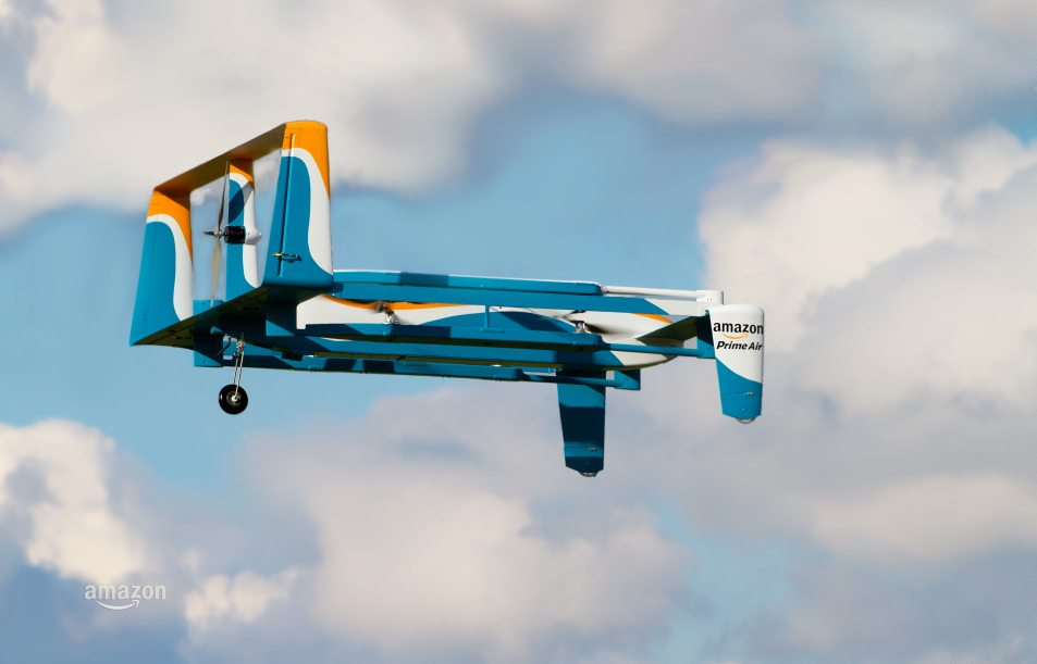 VIDEO Amazon Prime Air Releases Advertisement for Drone Delivery System