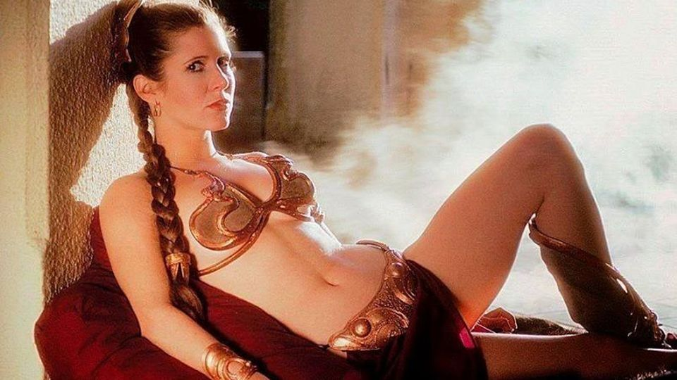 Carrie Fisher: Banning Princess Leia's Bikini Is 'Stupid'