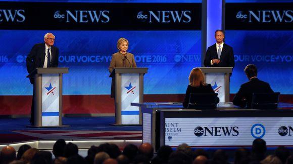 Hillary Clinton, Bernie Sanders, Martin O'Malley Face Off in 3RD #DemDebate