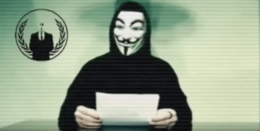 Video Anonymous Attacks Donald Trump Towers Website