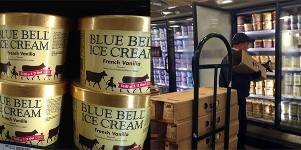 Blue Bell Creameries Returns To Most Of Texas After After Recall Due to Listeria Outbreak