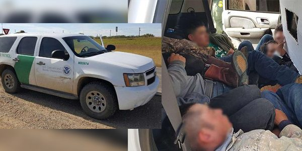 Agents Catch Human Smuggler Using Fake US Border Patrol Vehicle