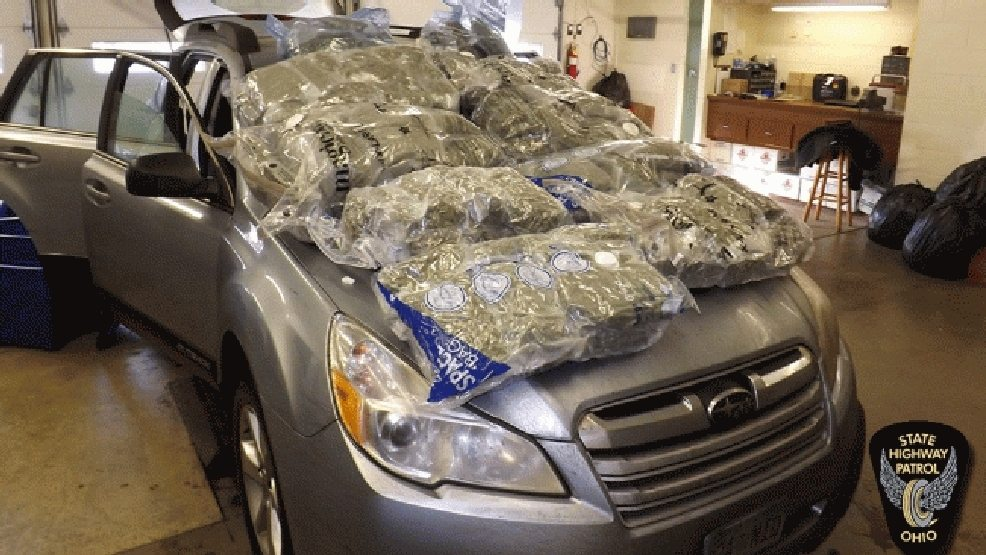 2 Men Arrested After Ohio State Highway Patrol Find $615,000 Worth Of Marijuana In Vehicle