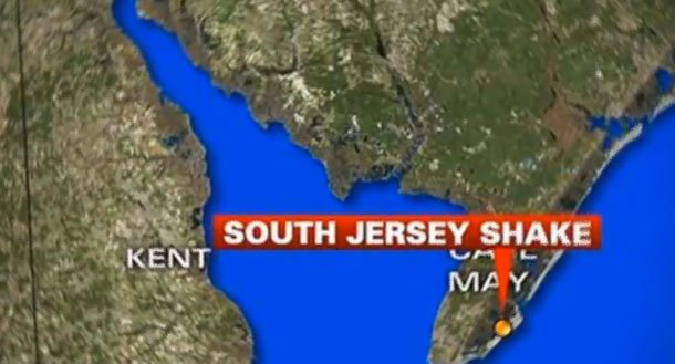 Shakes Felt by South New Jersey Residents Caused By Multiple Sonic Booms