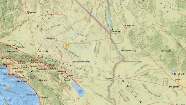 4 Earthquakes, 1 Magnitude of 4.1, Hits Ludlow, California
