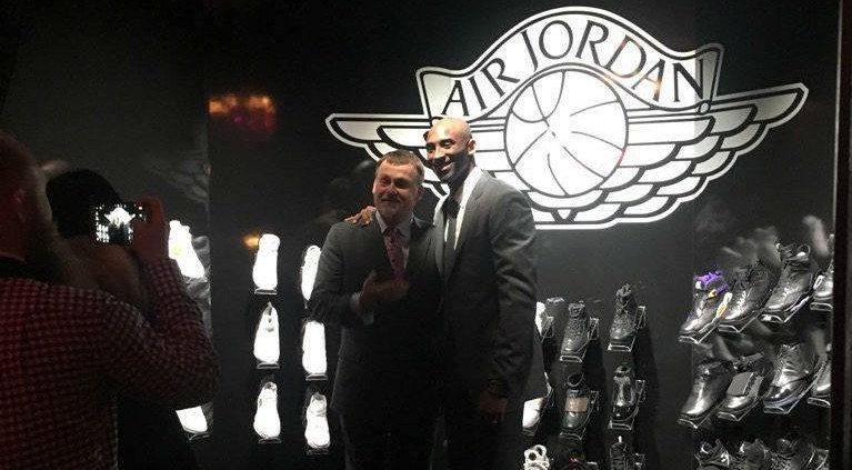 Michael Jordan Gives Kobe Bryant Collection of Air Jordans as Retirement Gift