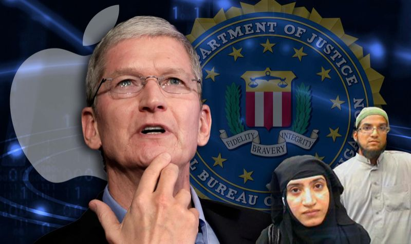 Apple CEO Tim Cook Fights Order to Unlock San Bernardino Shooter's iPhone