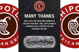 Chipotle Mexican Grill Offering 'Free burritos' After Closing For Food Safety Meeting