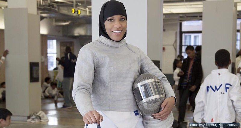 Meet Ibtihaj Muhammad, First American to Compete in Olympics in Hijab