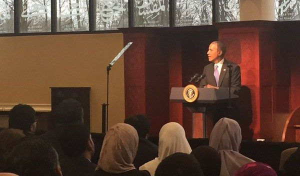 President Obama Becomes First POTUS to Ever Visit U.S. Mosque