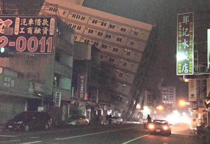 VIDEO Magnitude 6.4 Earthquake Hits Taiwan, Multiple Buildings Collapse