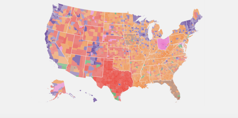Here's How the US Presidential Race Would Pan Out if Facebook Likes Were Votes