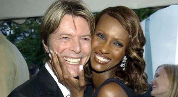 David Bowie's Widow Iman Posts Online For 1st Time