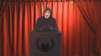 VIDEO Anonymous Releases Private Data on Cincinnati Police Department